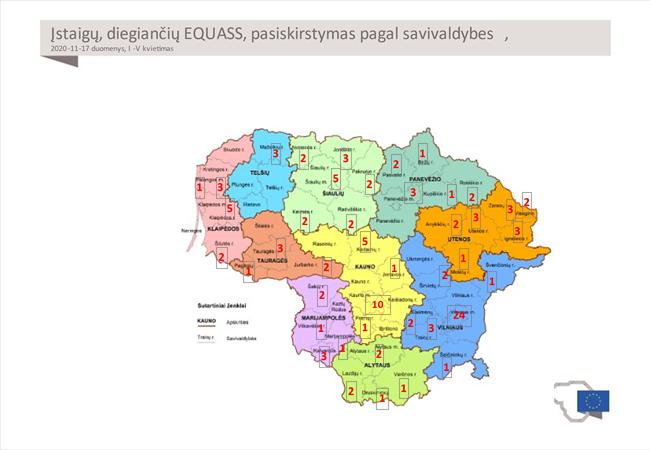 EQUASS sertifikuotos įstaigos Lietuvoje